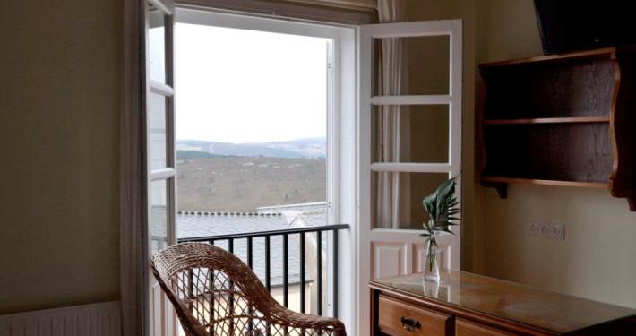 Pensión Cantábrico. Vistas de ventana